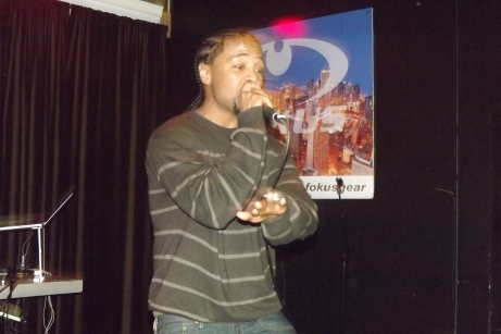 Derty Harry captivates the audience at The Chi City Record Pool Showcase