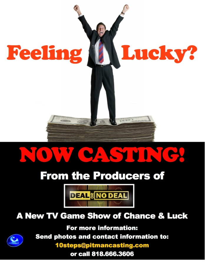 Summer 2013 Game Show flyer