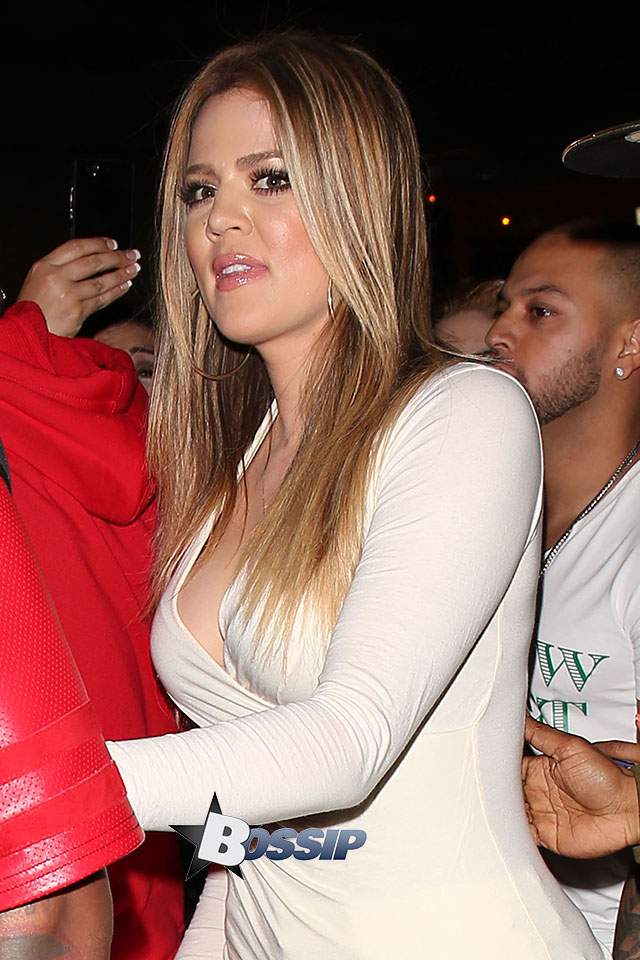 Khloe Kardashian and The Game host Dream at Tru