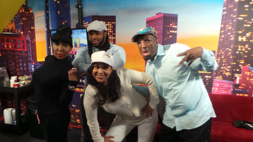 Ebony Steele, Headkrack, LisaRaye & Rickey Smiley