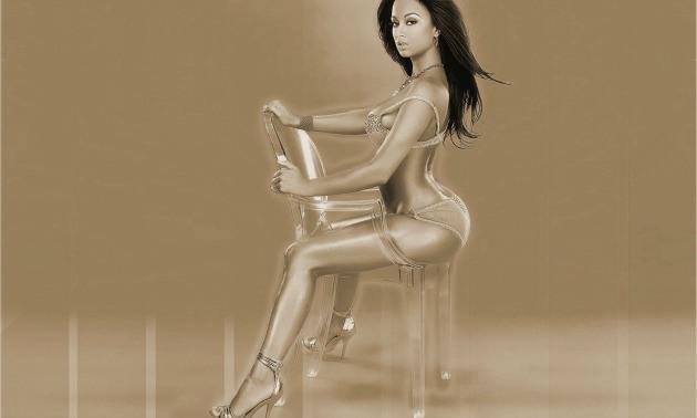 Draya Michele Modeling Pic