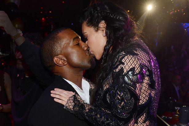 Kanye-West-Kim-Kardashian-kissing-pic