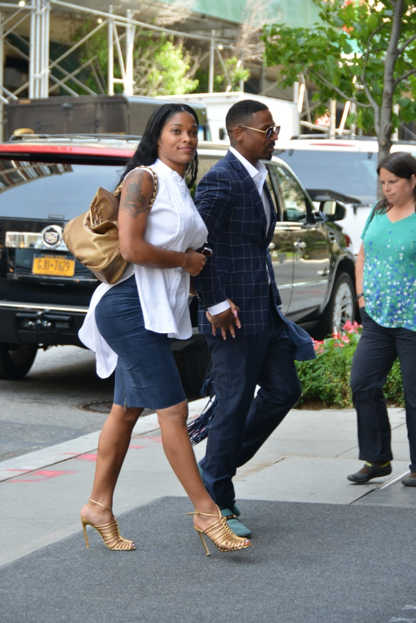 Stevie J and Joseline Hernandez in New York