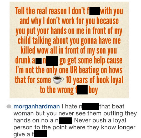 morgan hardman instagram ray j