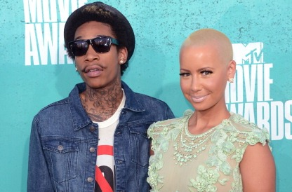 Wiz Khalifa & Amber Rose 2012 Getty Jason Merritt cropped