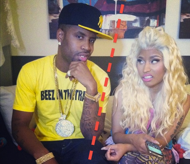 Nicki Minaj breaks windows in Safaree's Benz