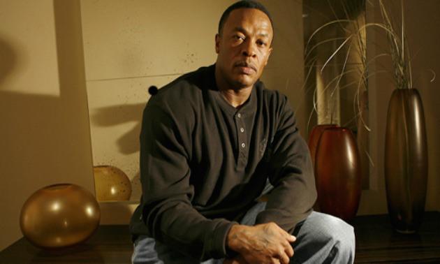 Dr. Dre Sitting